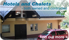 Hotels and Chalets - click for more info