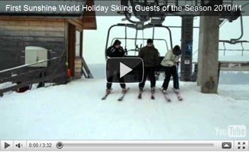 Click to view First Sunshine World Holiday Skiing Guests of the Season 2010/11